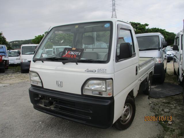 沖縄の中古車 ホンダ アクティトラック 車両価格 27万円 リ済別 1998(平成10)年 4.3万km ホワイト