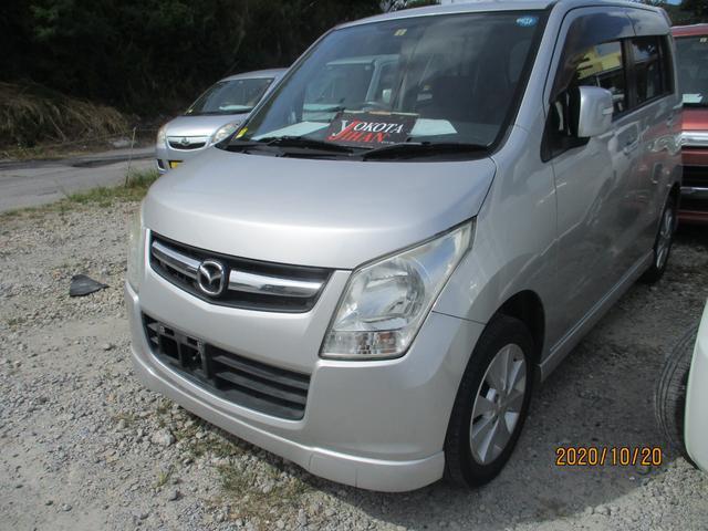 沖縄の中古車 マツダ AZワゴン 車両価格 24万円 リ済別 2009(平成21)年 12.0万km シルバーM