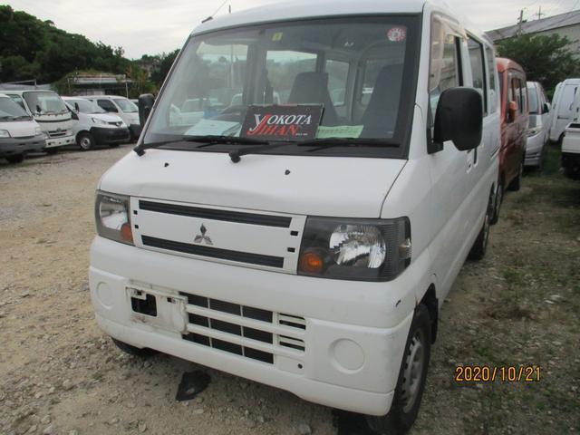 沖縄の中古車 三菱 ミニキャブバン 車両価格 24万円 リ済別 2011(平成23)年 12.5万km ホワイト