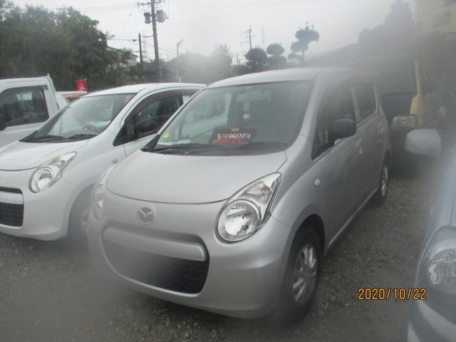 沖縄の中古車 マツダ キャロル 車両価格 29万円 リ済別 2013(平成25)年 5.2万km シルバー