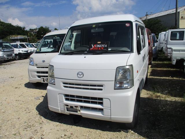 沖縄の中古車 マツダ スクラム 車両価格 29万円 リ済別 2008(平成20)年 10.7万km ホワイト