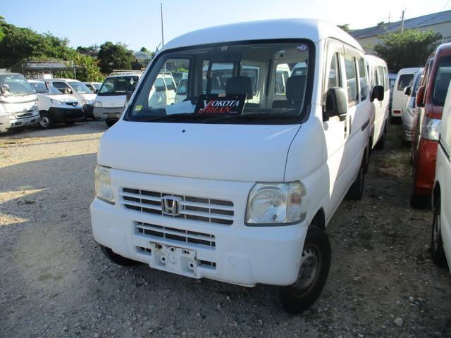 沖縄の中古車 ホンダ アクティバン 車両価格 29万円 リ済別 2009(平成21)年 14.7万km ホワイト