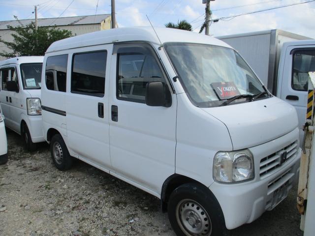 沖縄の中古車 ホンダ アクティバン 車両価格 24万円 リ済別 2010(平成22)年 13.6万km ホワイト