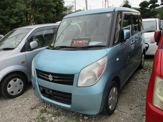 沖縄の中古車 スズキ パレット 車両価格 24万円 リ済別 2011(平成23)年 13.4万km ライトブルーII
