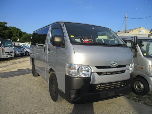 沖縄県の中古車ならハイエースバン ロングDX Wエアコン