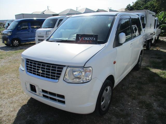 沖縄の中古車 三菱 eKワゴン 車両価格 28万円 リ済別 2012(平成24)年 10.4万km ホワイト