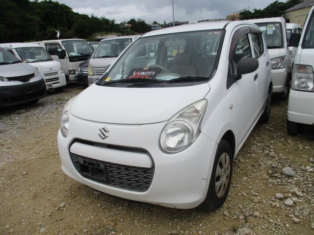 沖縄の中古車 スズキ アルト 車両価格 24万円 リ済別 2010(平成22)年 6.3万km ホワイト