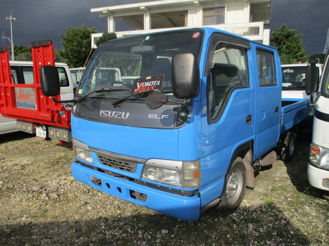 沖縄県中頭郡西原町の中古車ならエルフトラック Wキャブ