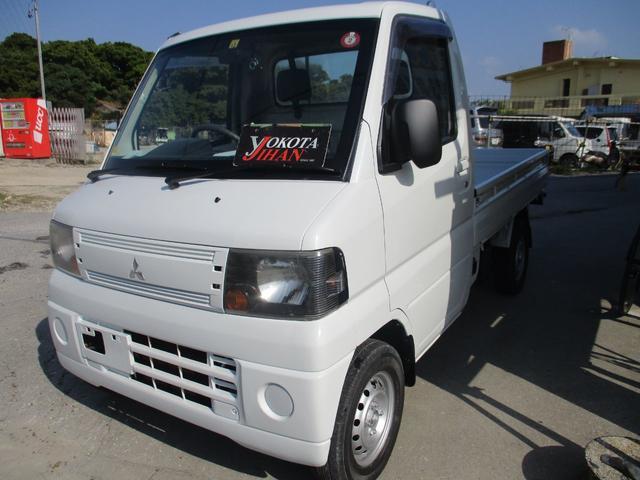 沖縄の中古車 三菱 ミニキャブトラック 車両価格 28万円 リ済別 2007(平成19)年 13.6万km ホワイト