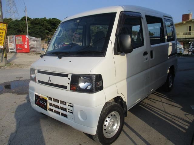 沖縄の中古車 三菱 ミニキャブバン 車両価格 28万円 リ済別 2011(平成23)年 12.5万km ホワイト