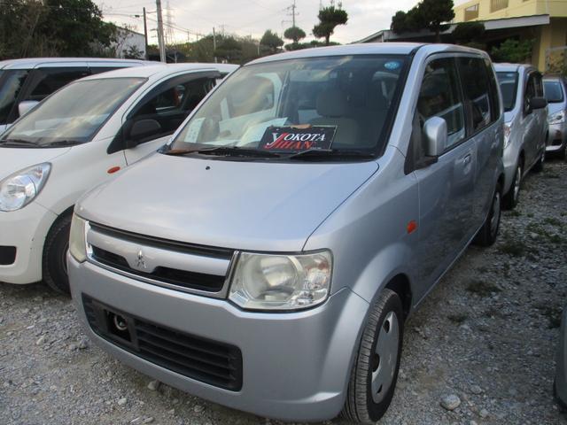 沖縄の中古車 三菱 eKワゴン 車両価格 24万円 リ済別 2007(平成19)年 10.8万km シルバーM