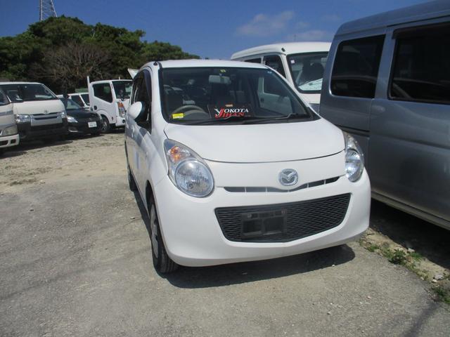 沖縄の中古車 マツダ キャロル 車両価格 24万円 リ済別 2012(平成24)年 8.1万km ホワイト
