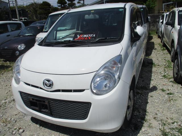 沖縄の中古車 マツダ キャロル 車両価格 24万円 リ済別 2012(平成24)年 8.8万km ホワイト