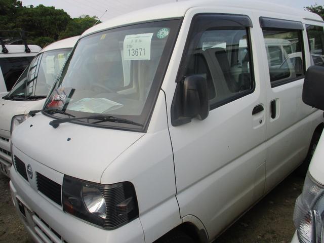 沖縄の中古車 日産 クリッパーバン 車両価格 24万円 リ済別 2011(平成23)年 17.0万km ホワイト