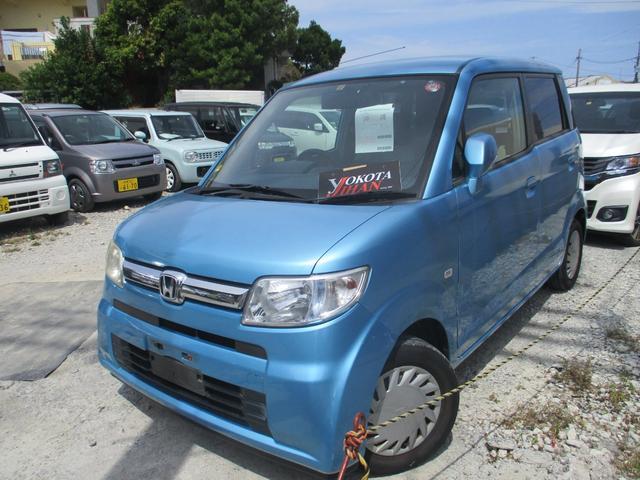 沖縄の中古車 ホンダ ゼスト 車両価格 19万円 リ済別 2006(平成18)年 10.7万km ライトブルー