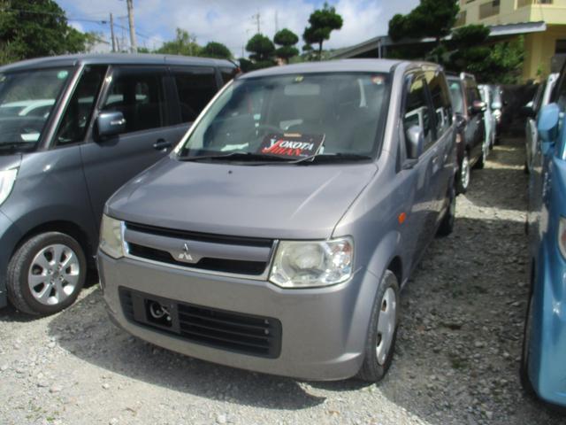 沖縄の中古車 三菱 eKワゴン 車両価格 27万円 リ済別 2008(平成20)年 6.3万km ガンM