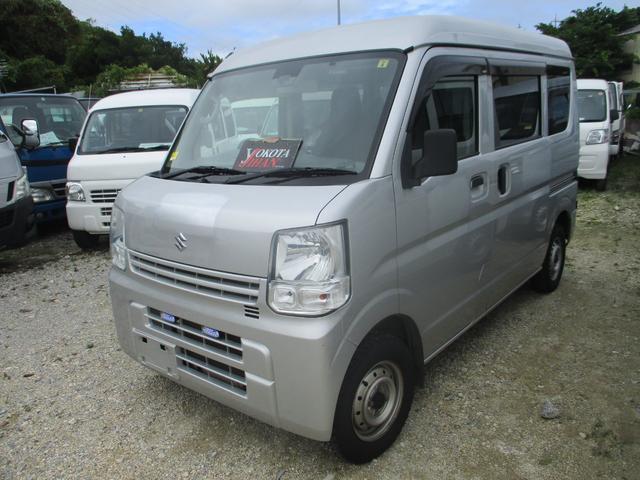 沖縄県中頭郡西原町の中古車ならエブリイ PC レーダーブレーキサポート