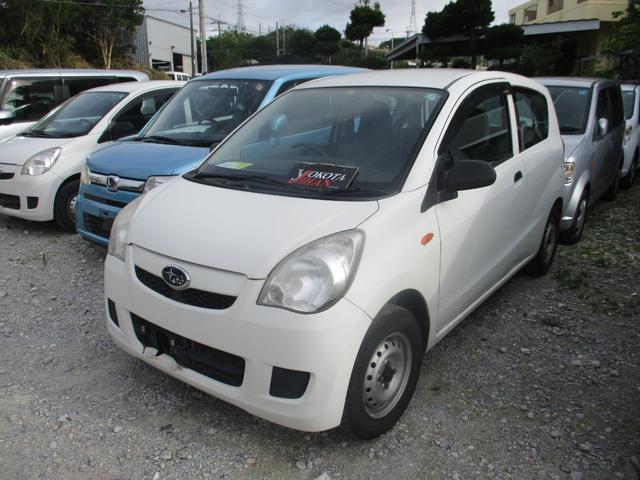 沖縄の中古車 スバル プレオ 車両価格 24万円 リ済別 2013(平成25)年 7.0万km ホワイト
