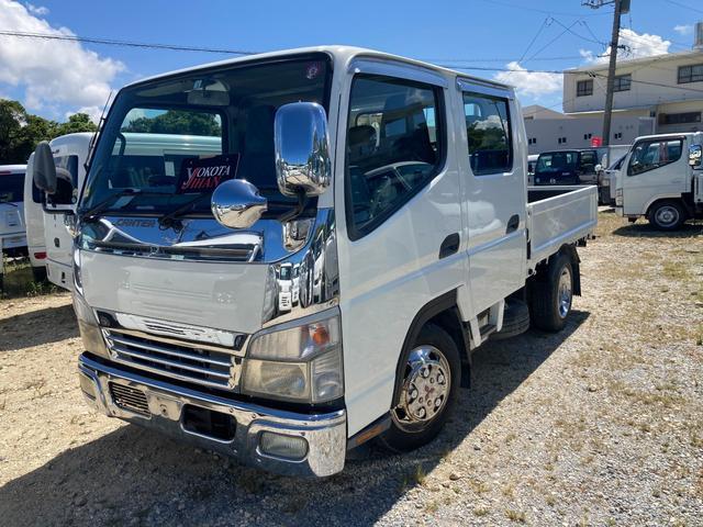 沖縄県の中古車ならキャンター Wキャブ 2t積