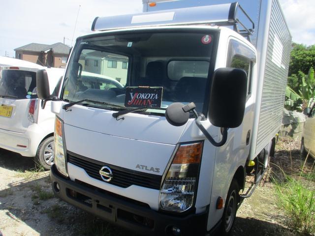 沖縄県の中古車ならアトラストラック  アルミバン1350K積載