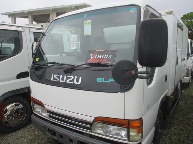 沖縄県中頭郡西原町の中古車ならエルフトラック  冷蔵冷凍車-5℃設定 1.400kg積