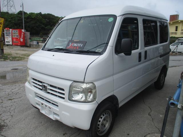 沖縄の中古車 ホンダ アクティバン 車両価格 29万円 リ済別 2007(平成19)年 14.3万km ホワイト