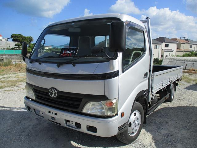 トヨタ ダイナトラック  ヒラボディ2tワイドロング
