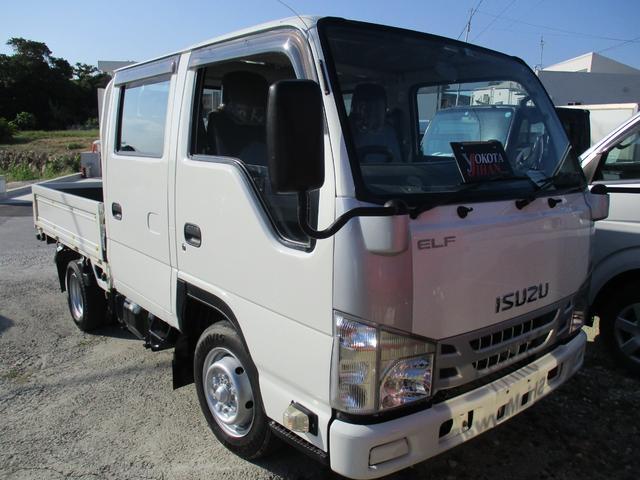 沖縄県の中古車ならエルフトラック  Wキャブ1.5t積載