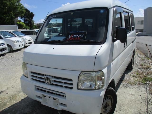 沖縄の中古車 ホンダ アクティバン 車両価格 24万円 リ済別 2008(平成20)年 17.5万km ホワイト