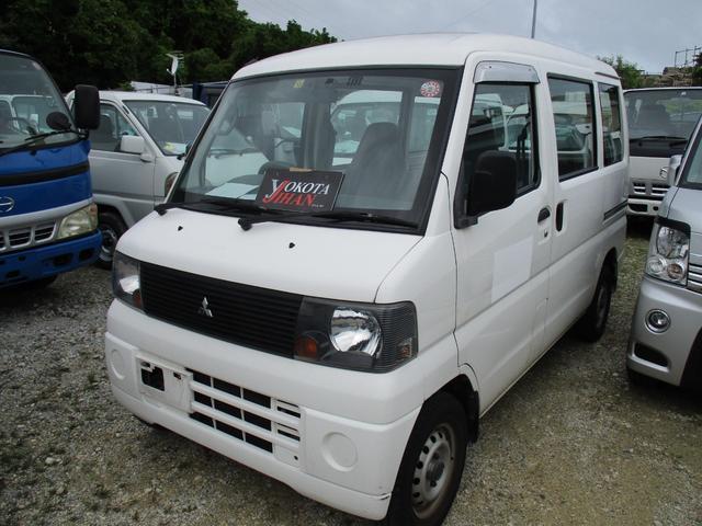 沖縄の中古車 三菱 ミニキャブバン 車両価格 24万円 リ済別 2005(平成17)年 13.2万km ホワイト