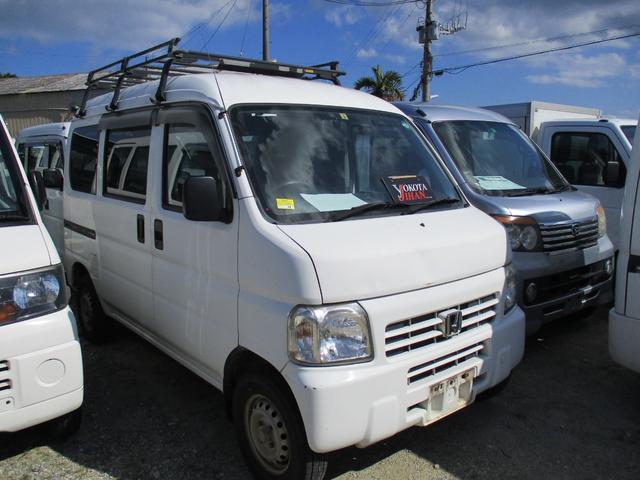 沖縄県沖縄市の中古車ならアクティバン SDX ルーフラック付
