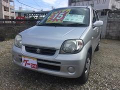 沖縄の中古車 スズキ Kei 車両価格 14万円 リ済込 平成19年 12.7万K シルバー