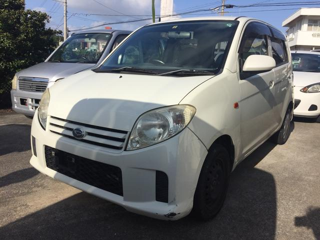 沖縄の中古車 ダイハツ MAX 車両価格 13万円 リ済込 平成17年 13.4万km ホワイト