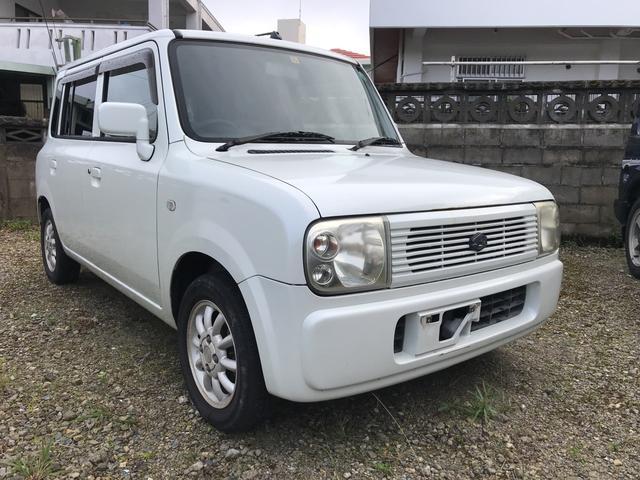 沖縄の中古車 スズキ アルトラパン 車両価格 13万円 リ済込 平成17年 9.4万km ホワイト