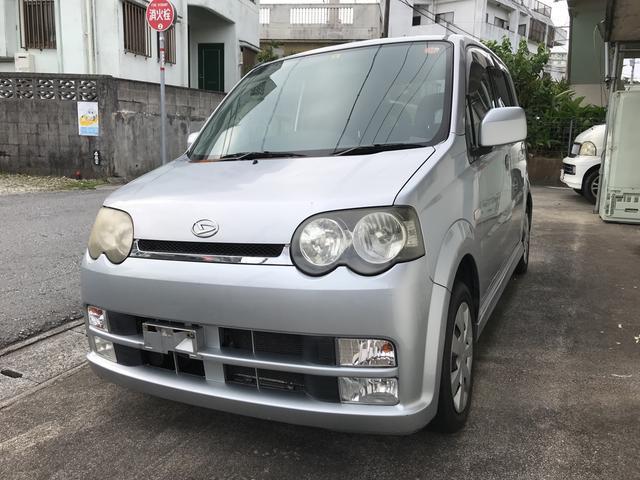 沖縄の中古車 ダイハツ ムーヴ 車両価格 13万円 リ済込 2004(平成16)年 14.6万km シルバー