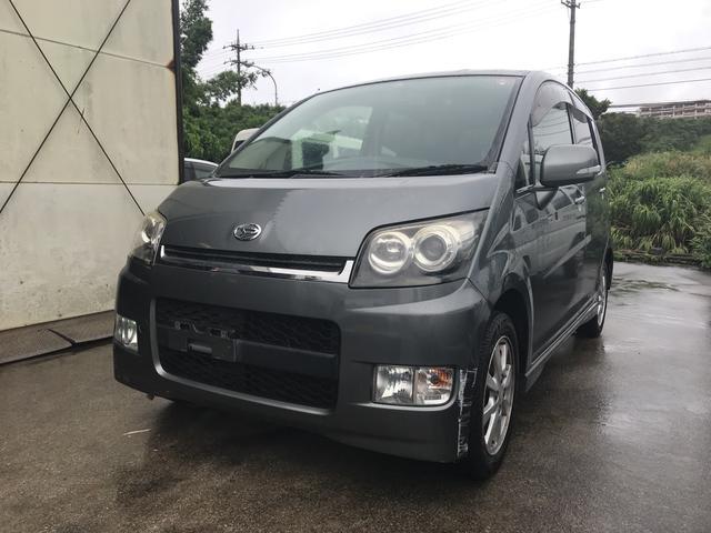 沖縄の中古車 ダイハツ ムーヴ 車両価格 17万円 リ済込 2006(平成18)年 12.1万km グレー