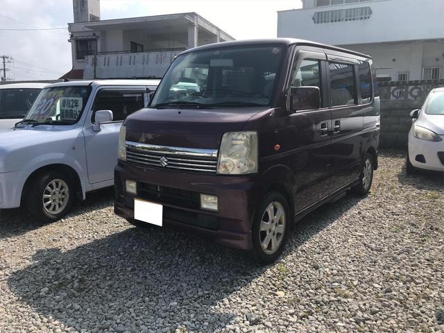 沖縄県南城市の中古車ならエブリイワゴン PZターボスペシャル