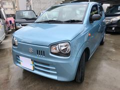 沖縄の中古車 スズキ アルト 車両価格 68万円 リ済込 平成29年 0.2万K ブルー