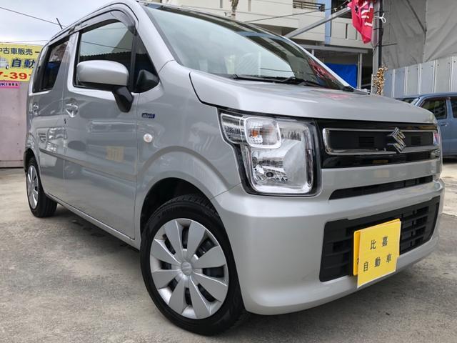 沖縄の中古車 スズキ ワゴンR 車両価格 88万円 リ済込 2018(平成30)年 0.5万km グレー