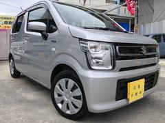 沖縄の中古車 スズキ ワゴンR 車両価格 108万円 リ済込 平成30年 814K グレー