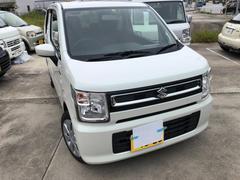 沖縄の中古車 スズキ ワゴンR 車両価格 108万円 リ済込 平成30年 100K パールホワイト