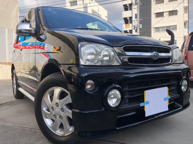 沖縄の中古車 ダイハツ テリオスキッド 車両価格 29万円 リ済込 2002(平成14)年 15.5万km ブラックM