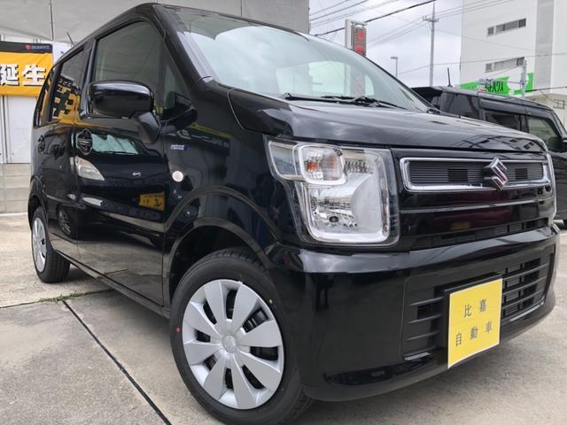 沖縄の中古車 スズキ ワゴンR 車両価格 108万円 リ済込 2019(平成31)年 4km ブラックM