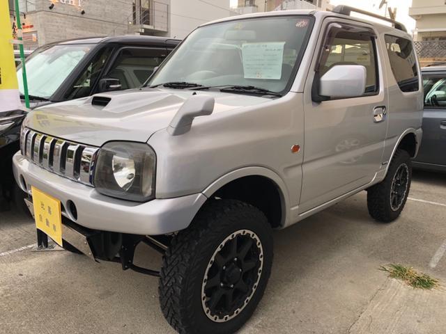 沖縄の中古車 スズキ ジムニー 車両価格 125万円 リ済込 2005(平成17)年 11.9万km シルバー