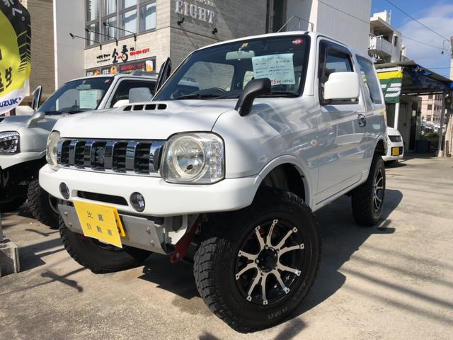 沖縄の中古車 スズキ ジムニー 車両価格 175万円 リ済込 2012(平成24)年 10.2万km ホワイト