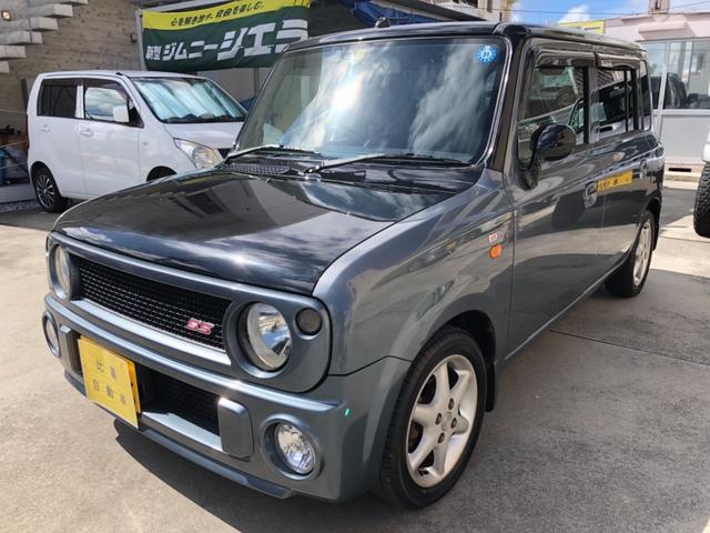 沖縄県の中古車ならアルトラパン SS ターボ・人気のガンメタ  AT車