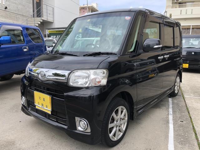 沖縄の中古車 ダイハツ タント 車両価格 85万円 リ済込 2012(平成24)年 14.2万km ブラックM