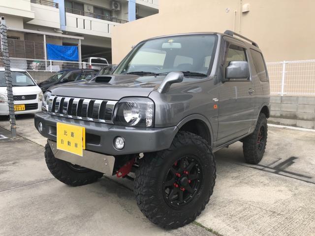 沖縄の中古車 スズキ ジムニー 車両価格 188万円 リ済込 2006(平成18)年 11.9万km ガンM