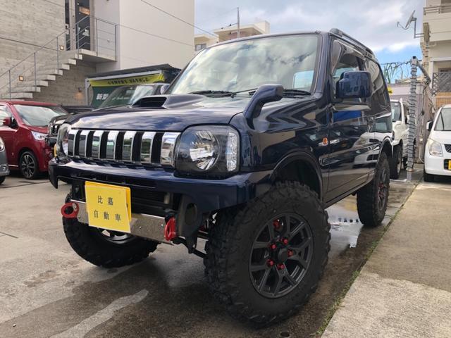 沖縄の中古車 スズキ ジムニー 車両価格 ASK リ済込 2008(平成20)年 17.9万km ダークブルーM