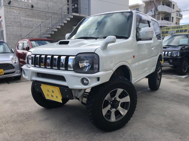 沖縄の中古車 スズキ ジムニー 車両価格 198万円 リ済込 2012(平成24)年 3.3万km パールホワイト